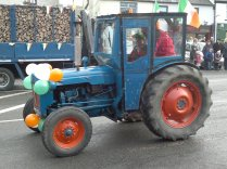 Possibly my favourite tractor of the day.